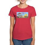 Bulldoze the Smoking Gazebo Women's Dark T-Shirt