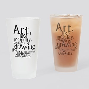 morality Drinking Glass