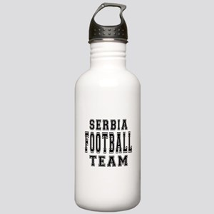 Serbia Football Team Stainless Water Bottle 1.0L