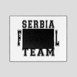 Serbia Football Team Picture Frame