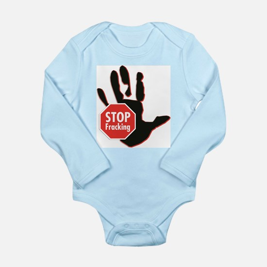 Stop Fracking Hand Body Suit