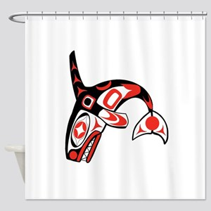 NATURAL LEADER Shower Curtain