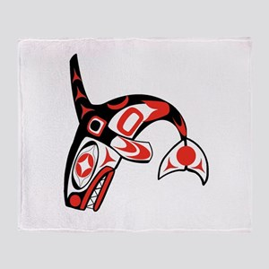 NATURAL LEADER Throw Blanket