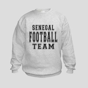 Senegal Football Team Kids Sweatshirt