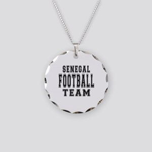 Senegal Football Team Necklace Circle Charm