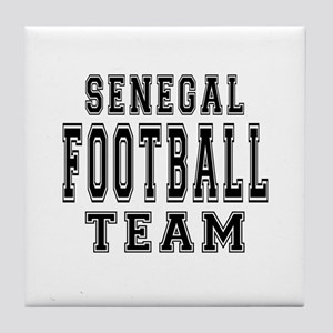 Senegal Football Team Tile Coaster