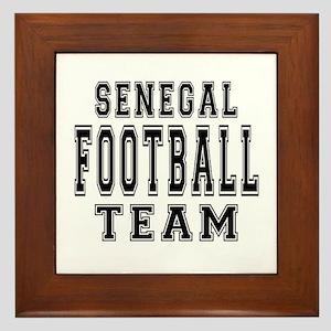 Senegal Football Team Framed Tile