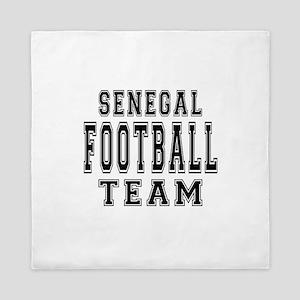 Senegal Football Team Queen Duvet