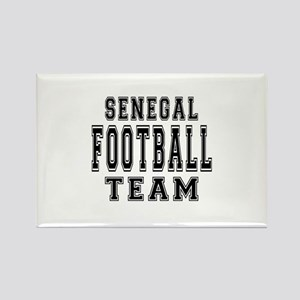 Senegal Football Team Rectangle Magnet