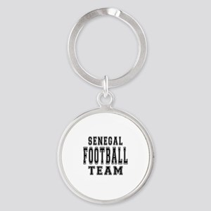 Senegal Football Team Round Keychain