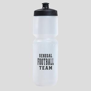 Senegal Football Team Sports Bottle