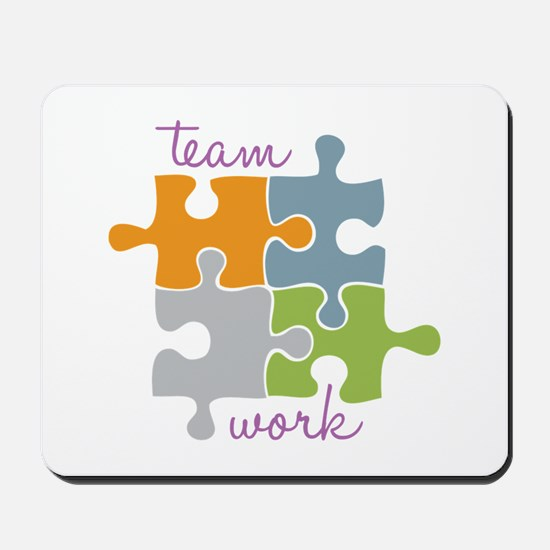 Team Work Mousepad