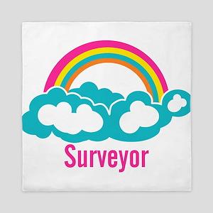 Rainbow Cloud Surveyor Queen Duvet