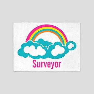 Rainbow Cloud Surveyor 5'x7'Area Rug