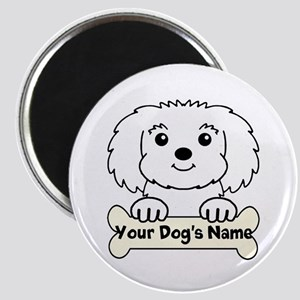 Personalized Maltese Magnet