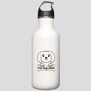 Personalized Maltese Stainless Water Bottle 1.0L