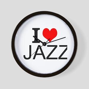 I Love Jazz Wall Clock