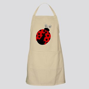 Cute Red and Black Ladybug Apron