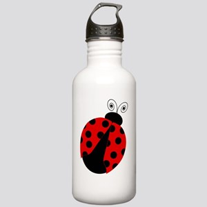 Cute Red and Black Lad Stainless Water Bottle 1.0L