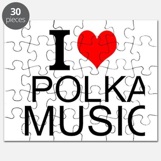 I Love Polka Music Puzzle