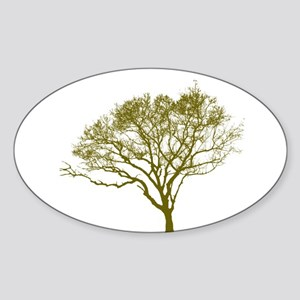Green Tree Sticker