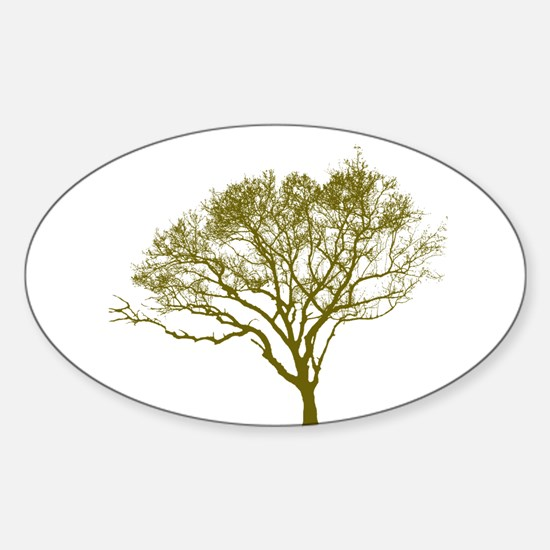 Green Tree Decal