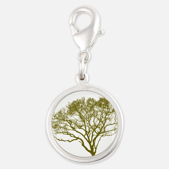 Green Tree Charms