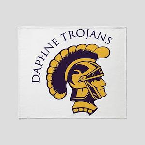 Daphne Trojans Throw Blanket
