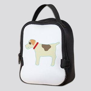 Dog Outline Neoprene Lunch Bag