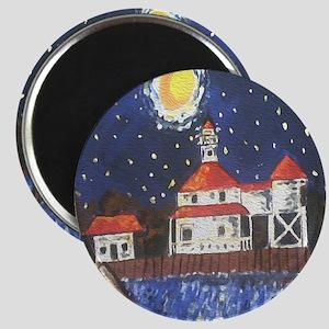 West End Lighthouse Magnet