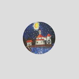 West End Lighthouse Mini Button