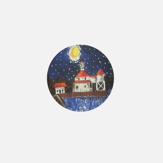 West End Lighthouse Mini Button