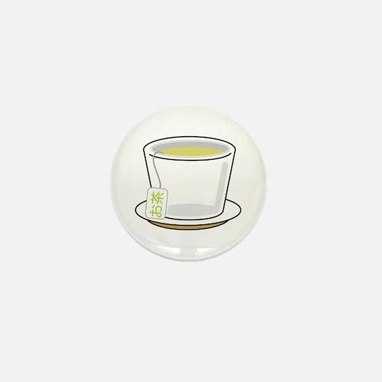 Green Tea Mini Button