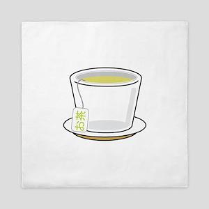 Green Tea Queen Duvet