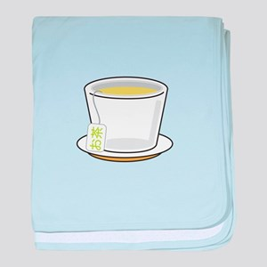 Green Tea baby blanket