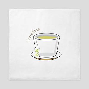 Cup Of Tea Queen Duvet