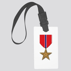 Bronze Star Large Luggage Tag