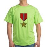 Bronze Star Green T-Shirt