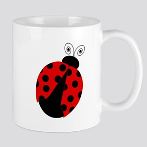 Cute Red and Black Ladybug Mugs