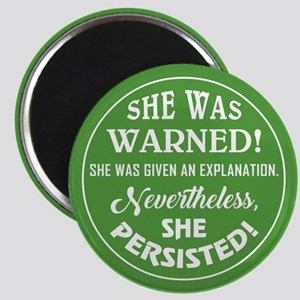 SHE WAS WARNED! Magnets