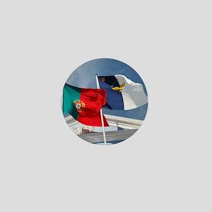 Portugal and Azores Mini Button