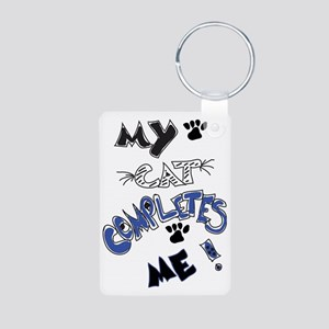 For the cat lover! Aluminum Photo Keychain