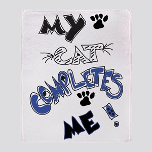 For the cat lover! Throw Blanket
