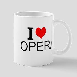 I Love Opera Mugs