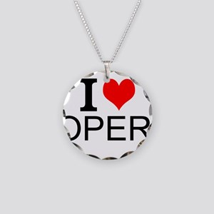 I Love Opera Necklace