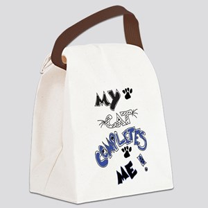For the cat lover! Canvas Lunch Bag