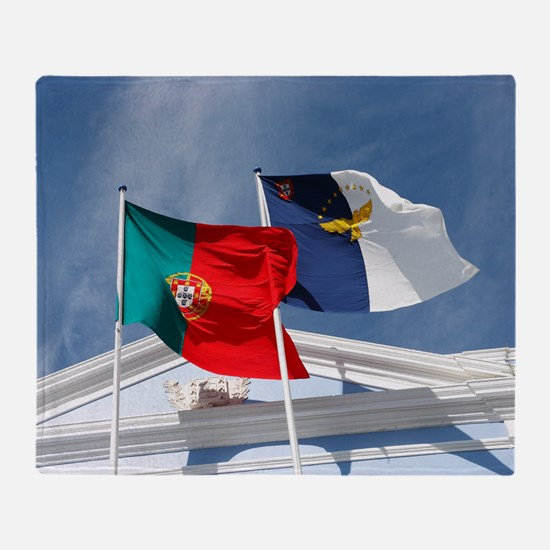 Portugal and Azores Throw Blanket