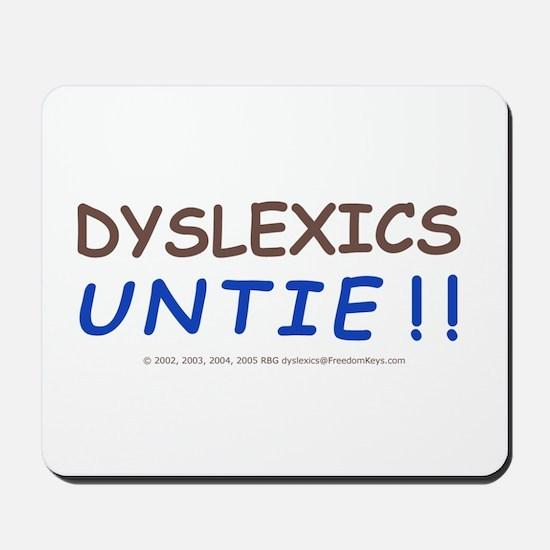 Dyslexic's Mousepad