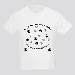 Scrambled - Dogs are like pot Kids Light T-Shirt
