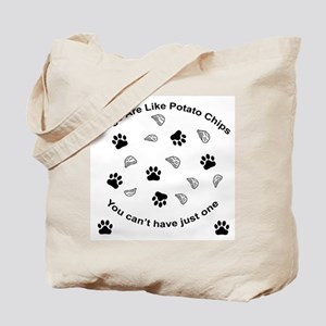 Scrambled - Dogs are like pot Tote Bag